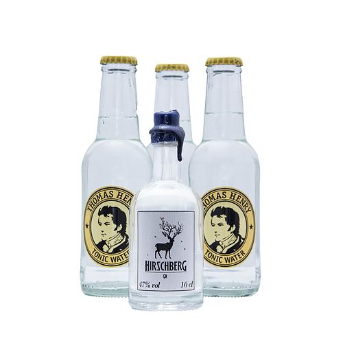 Hirschberg 0,1L + 3x Thomas Henry Tonic Water 0,2L
