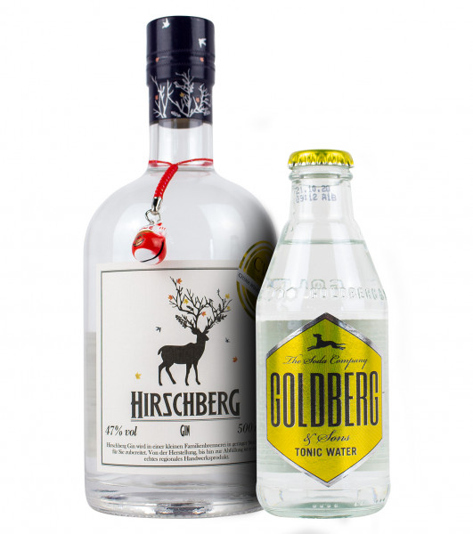 Hirschberg Gin Limited CWSA Edition - 0.5L + 1 Goldberg Tonic